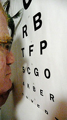 Reading an Eye Chart by MousyBoyWithGlasses 1462*